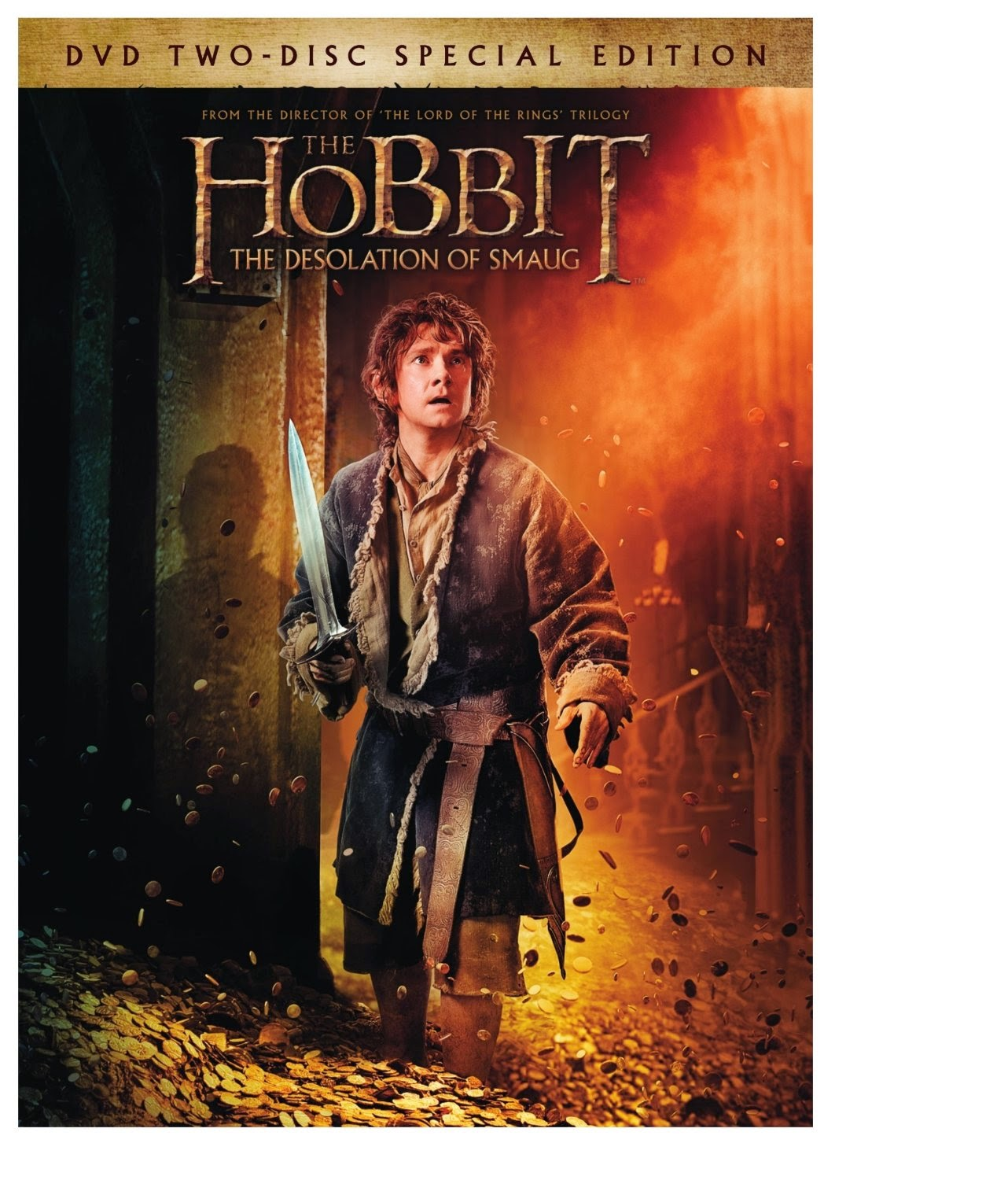 The Hobbit: The Desolation of Samug DVD