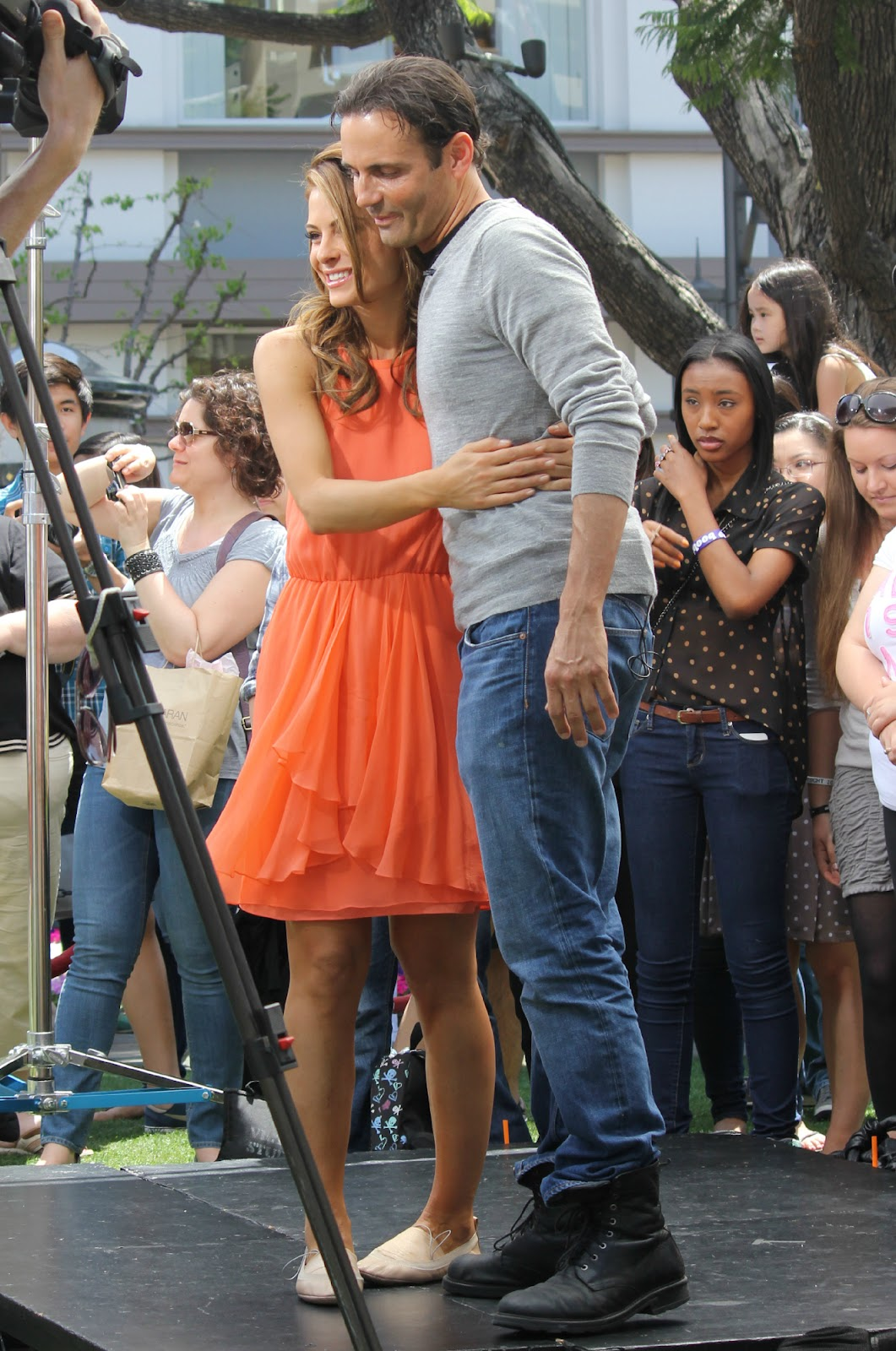 Maria Menounos, Her Real Boyfriend & Derek Hough Play ...