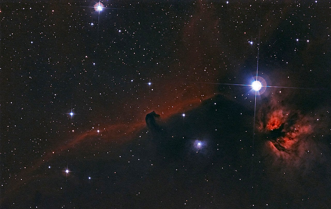 Facts and History of Horsehead Nebula.