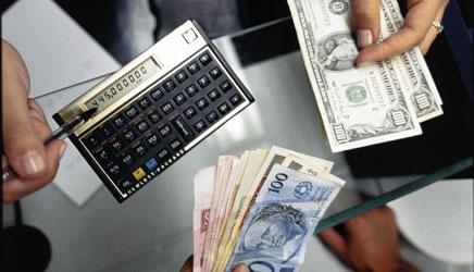 Taxa de câmbio cotação de moedas estrangeiras