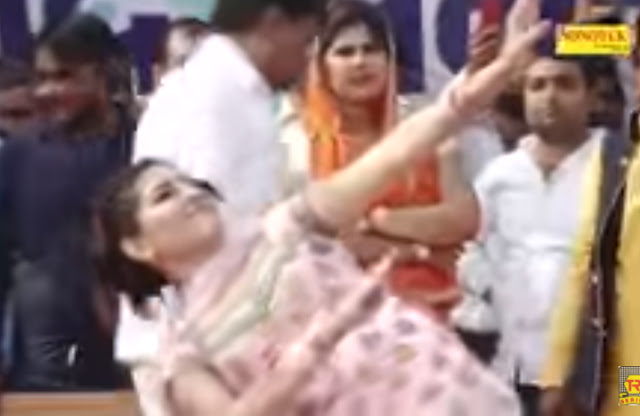 Sapna Chaudhary's awesome dance which won everyone's heart