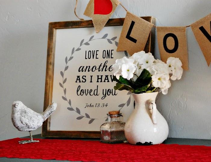 Valentine Vignette & A Birthday