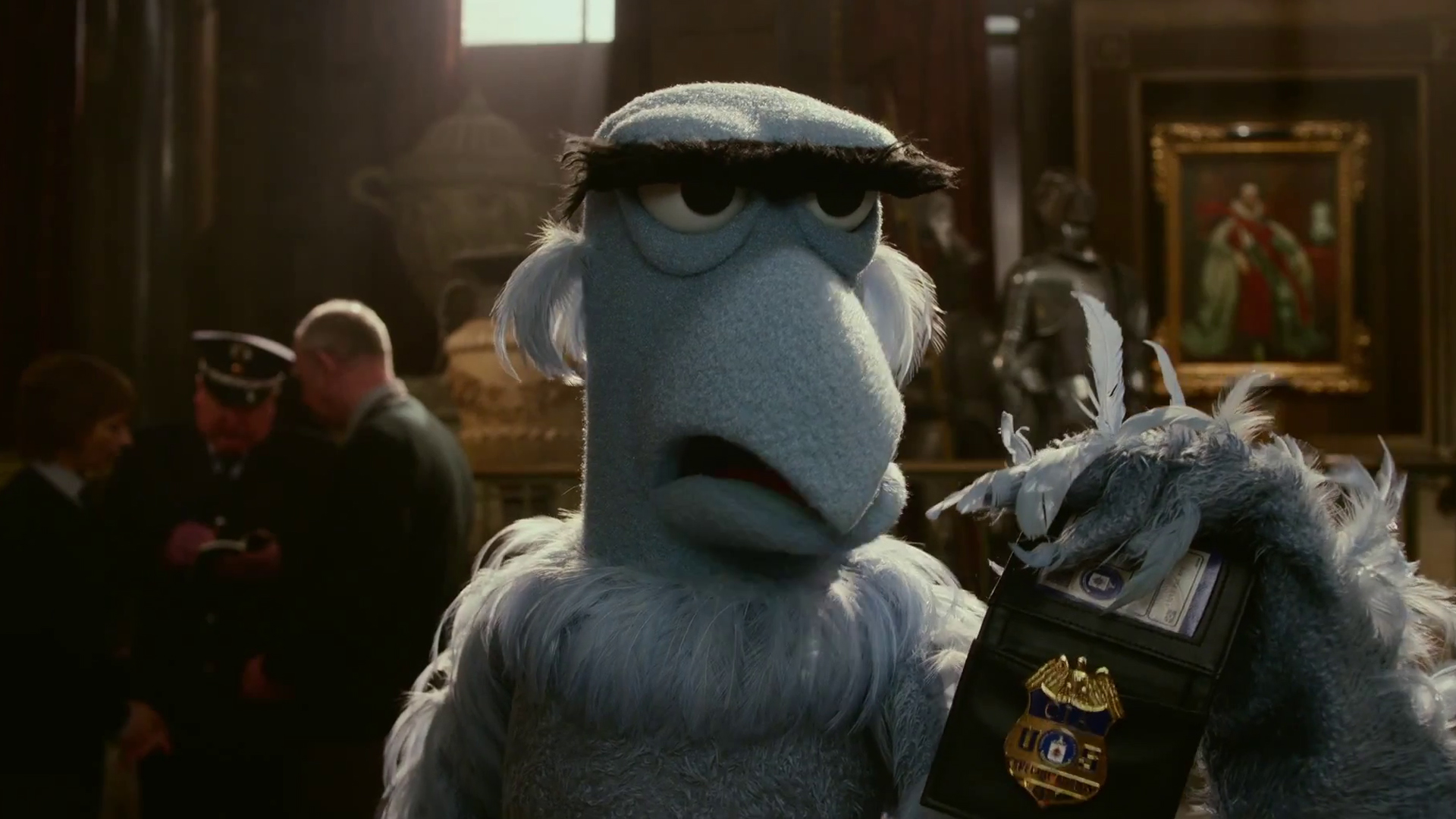 Muppets Most Wanted Sam Eagle 3e Wallpaper HD