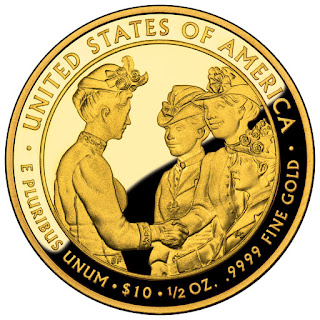 United States Gold Coins Frances Cleveland First Term 10 Dollars First Spouse Gold Coin