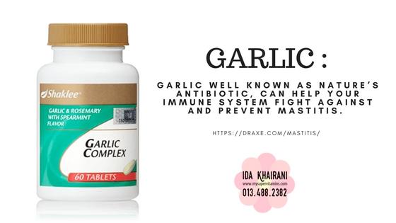 Garlic Shaklee @ Bawang Putih bersifat seperti antibiotik membantu tingkatkan imun dan lawan infeksi