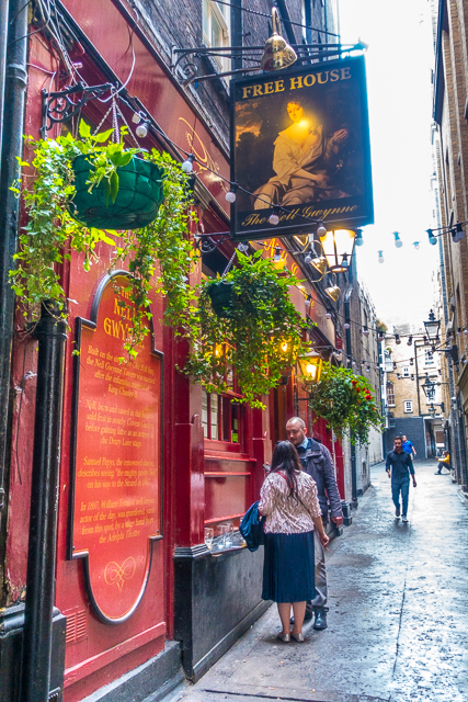 The Nell Gwynn Pub London England