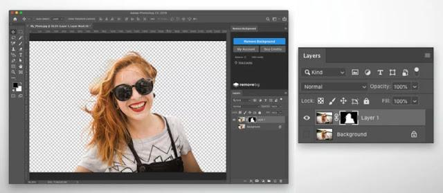 Remove.bg porta la rimozione dello sfondo in 1 clic su Photoshop
