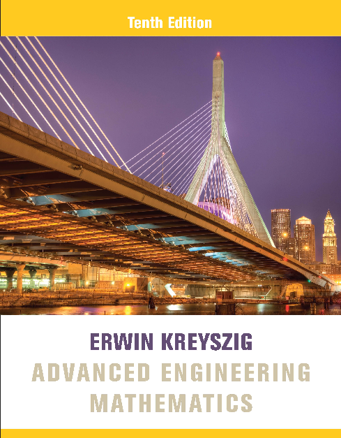 pdf book : Advanced Engineering Mathematics 10th Edition by
