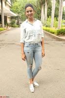 Rakul Preet Singh in Jeans and White Shirt At Jaya Janaki Nayaka le Logo Launch ~  Exclusive 002.JPG