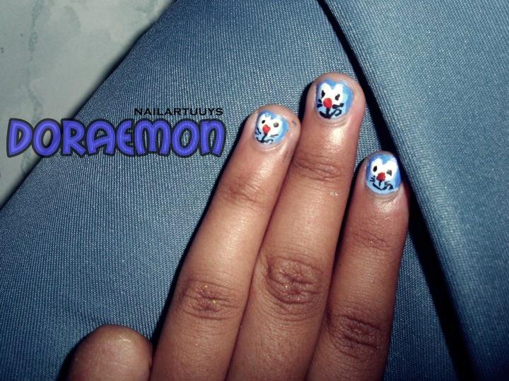 Nailart With Doraemon Lifedocumentary