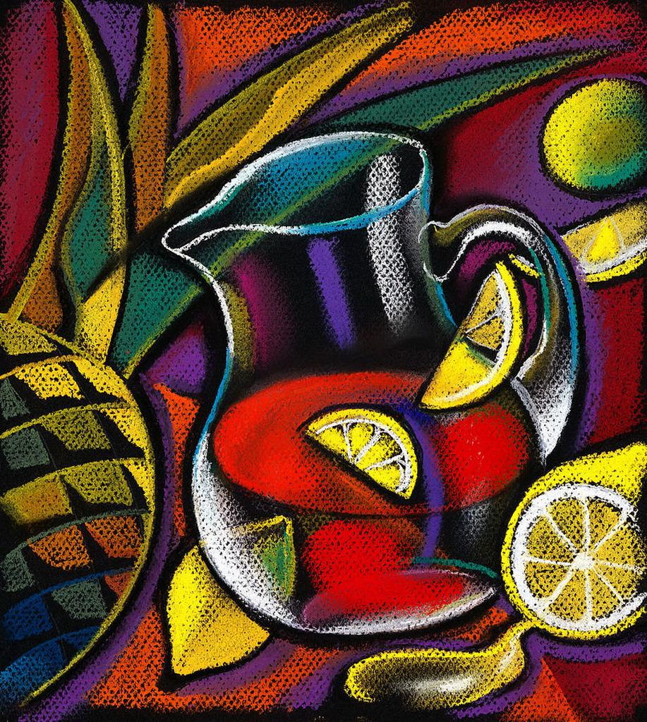 cuadros modernos pinturas y dibujos frutas compendio de