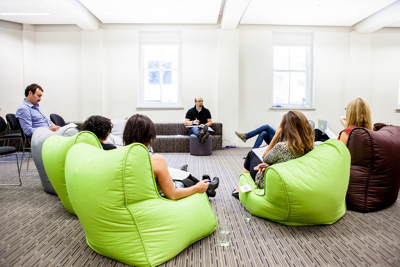 Bean Bags for Office Discussion