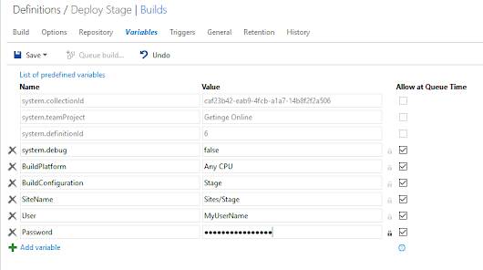 TFS 2015: deploy website to IIS without installing add-ons to TFS