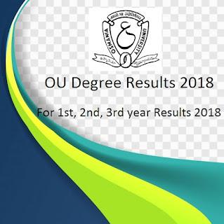 Manabadi OU Degree Results 2018, Osmania University Results 2018 Schools9