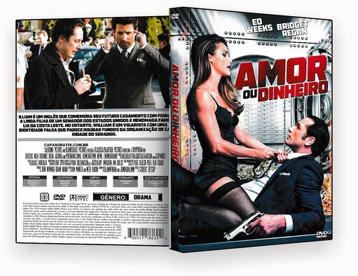 CAPA DVD – Amor Ou Dinheiro DVD-R 2018