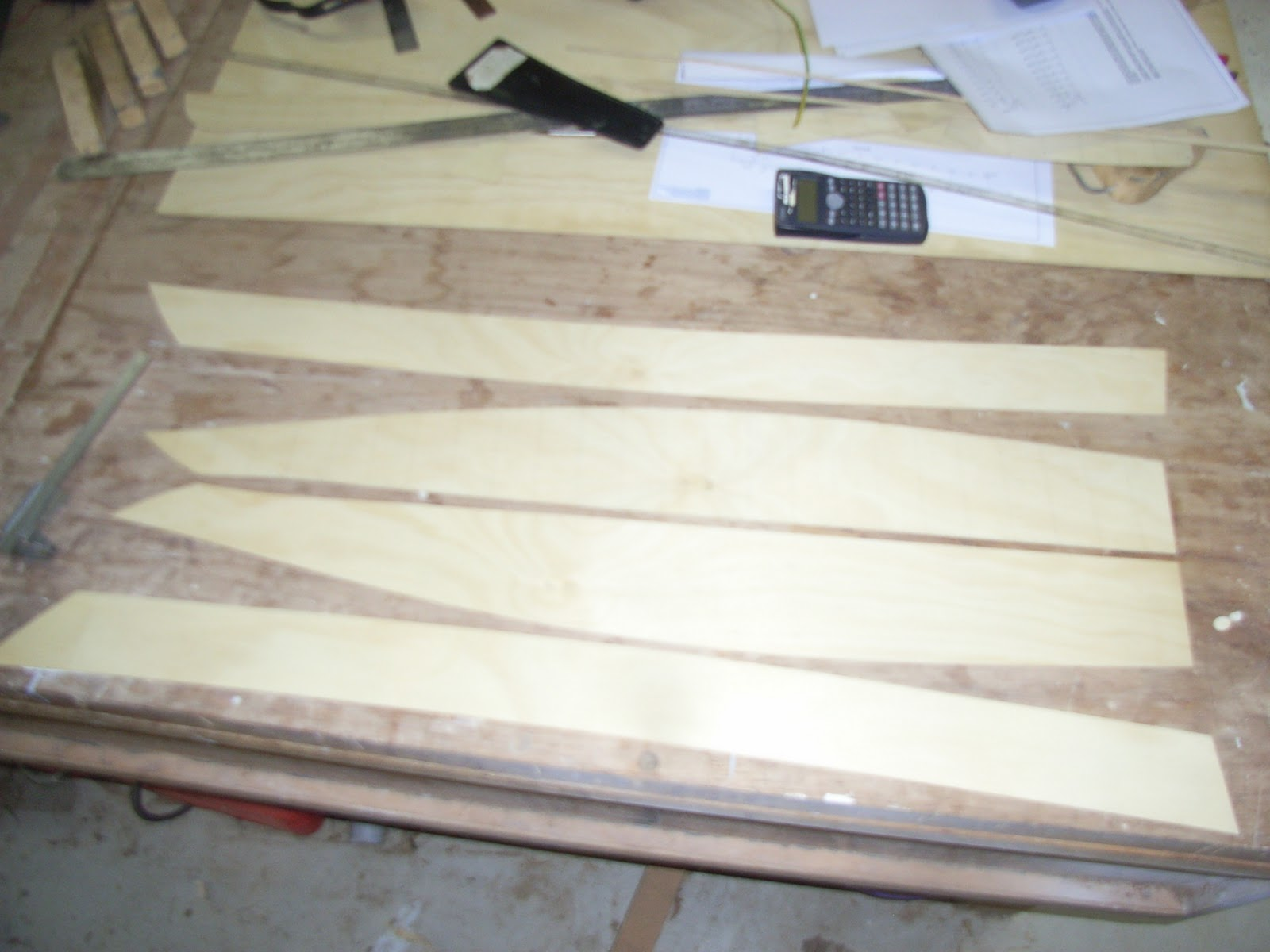 from 1.5mm Hoop Pine marine plywood to produce a 1/8th scale model