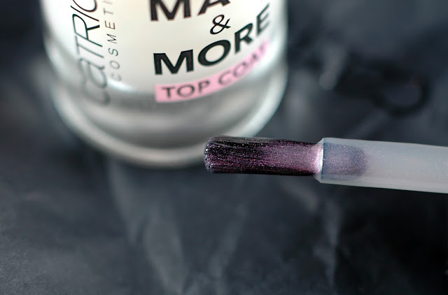 Catrice Matt & More Topcoat Pinsel