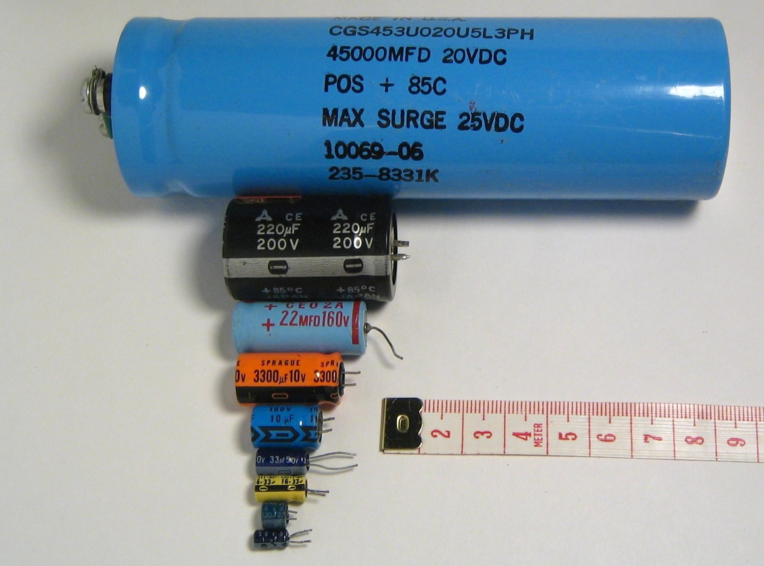 Capacitance And Capacitors With Example
