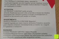 Warnung: Playbees 100 Teile Magnetische Bausteine Set für 2D und 3D Form Konstruktionen, Regenbogenfarben Magnetspielzeug, Baukasten Magnetspiel, Magnetbausteine