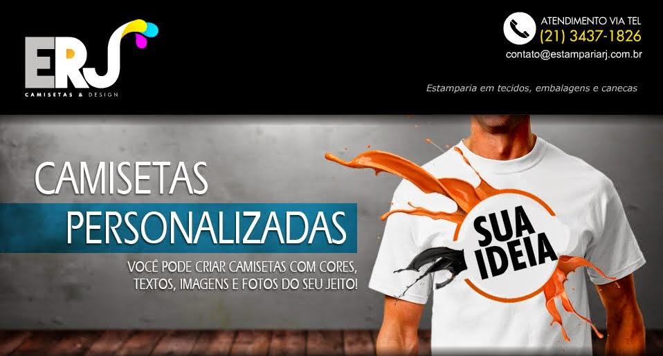 Camisas Personalizadas Rio de Janeiro  Estamparia de Camisas e ... 22bad7e90a878