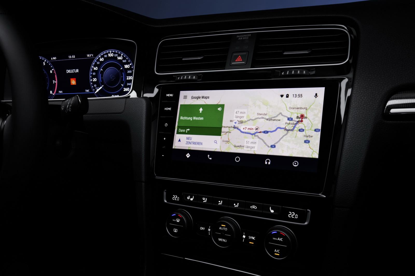 Мультимедийная система Volkswagen Golf