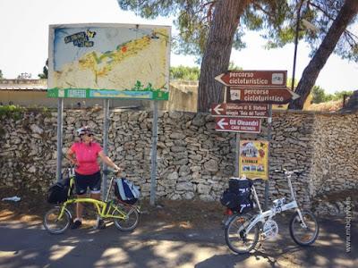 Bromton bike Percorso Cicloturistico, Otranto