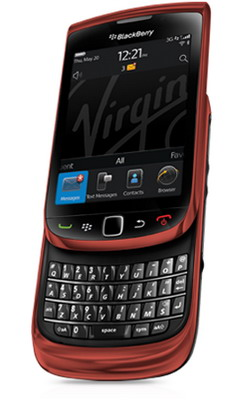 Red BlackBerry Torch 9800 available in Canada 2