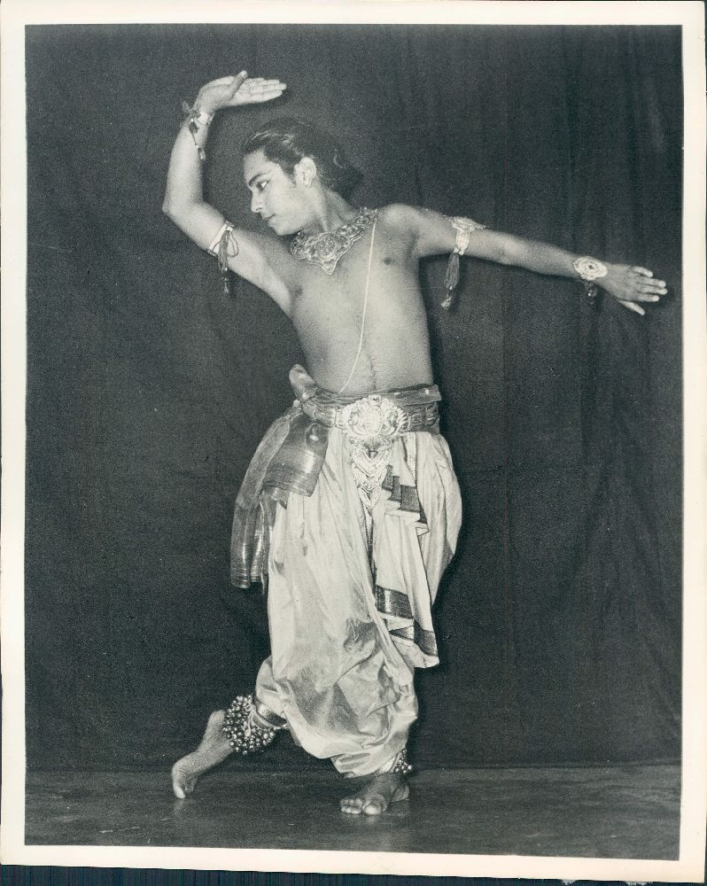 Indian Kathak Dance Performer Brijmohan Maharaj Popularly Known as Pandit Birju Maharaj
