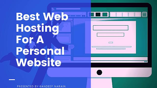Web Hosting Personal Website