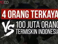 Mencengangkan, Dalam Sehari Bunga Deposito 4 Orang Kaya Indonesia Ini Bikin Melongo! Inilah Indonesia