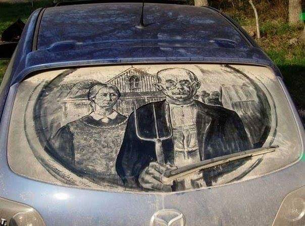 Mind-Blowing Dust Art You Will Love