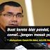 Cerita Syed Zainal : Allahyarham Datuk Nik Abdul Aziz Nik Mat pernah menasihatkan beliau agar tidak menceburi bidang politik.