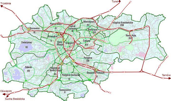 Upadek Techniki Krakowa Wybrane Stacje Krakowskiego Wezla Kolejowego