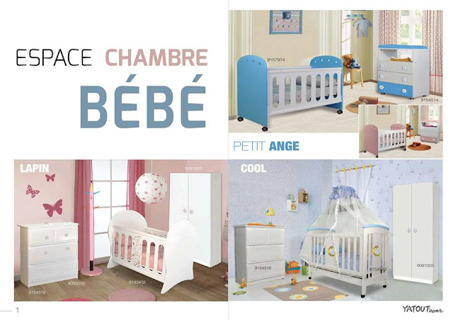 catalogue yatout home chambre bebe ete 2017