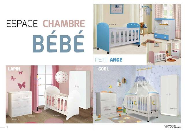 catalogue yatout home chambre bebe ete 2017
