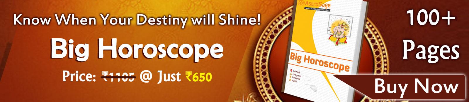Big Horoscope - Key To Your Bright Destiny
