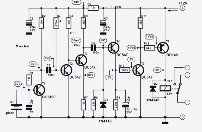 Vibrating Cell Phone Remote Control Circuit ~ Electronic
