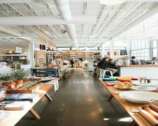 A catering establishment on Innovative Future