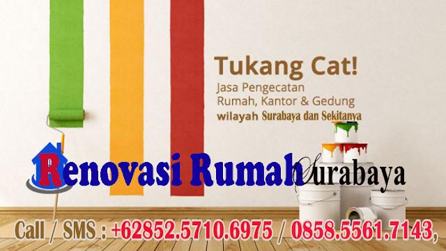 Jasa Tukang Cat Surabaya Murah