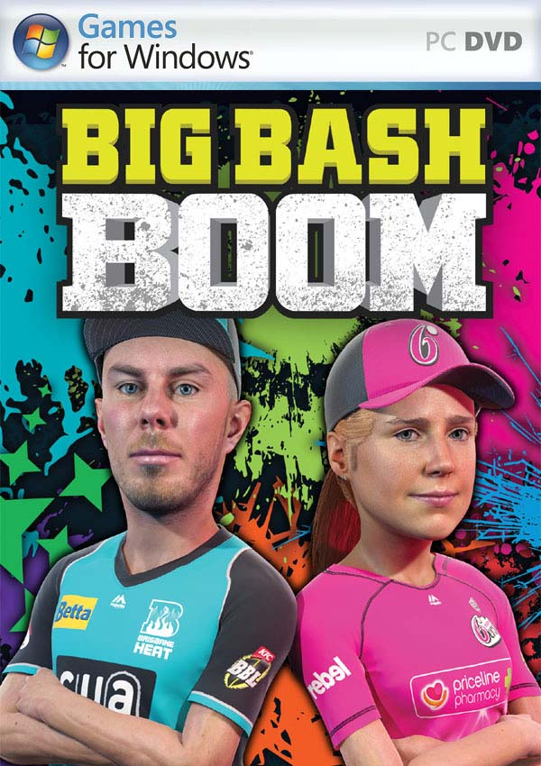 Big Bash Boom PC Cover