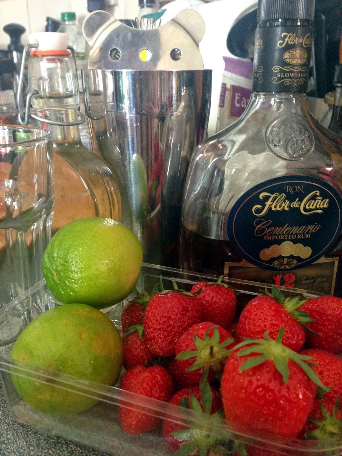 Stitch & Bear - Strawberry daiquiri - ingredients