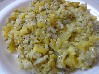 Zucchini with Rice (Pirincli Kabak)