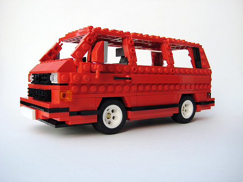 t3 vanagon spot red lego t3 bulli. Black Bedroom Furniture Sets. Home Design Ideas