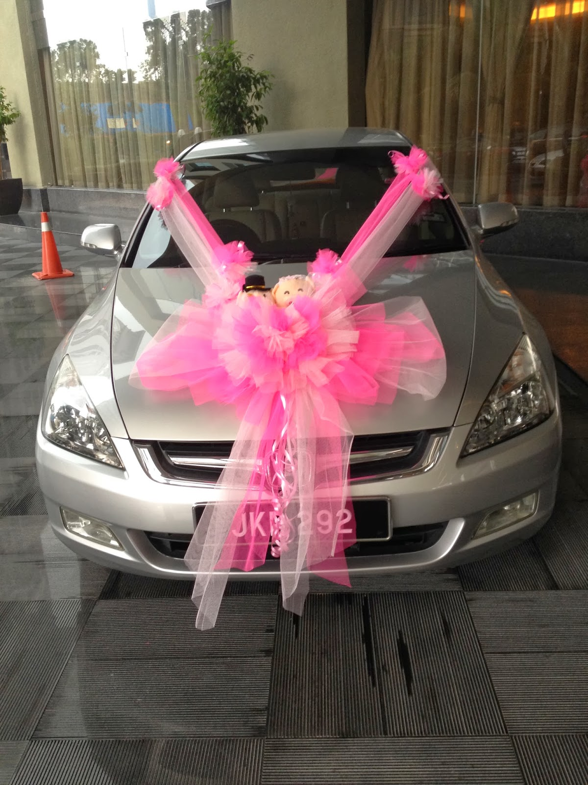 Wedding car decoration for Automobile decoration