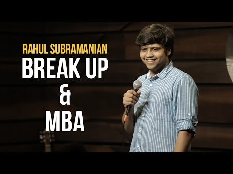 A stand up comedy by Rahul Subramaniam