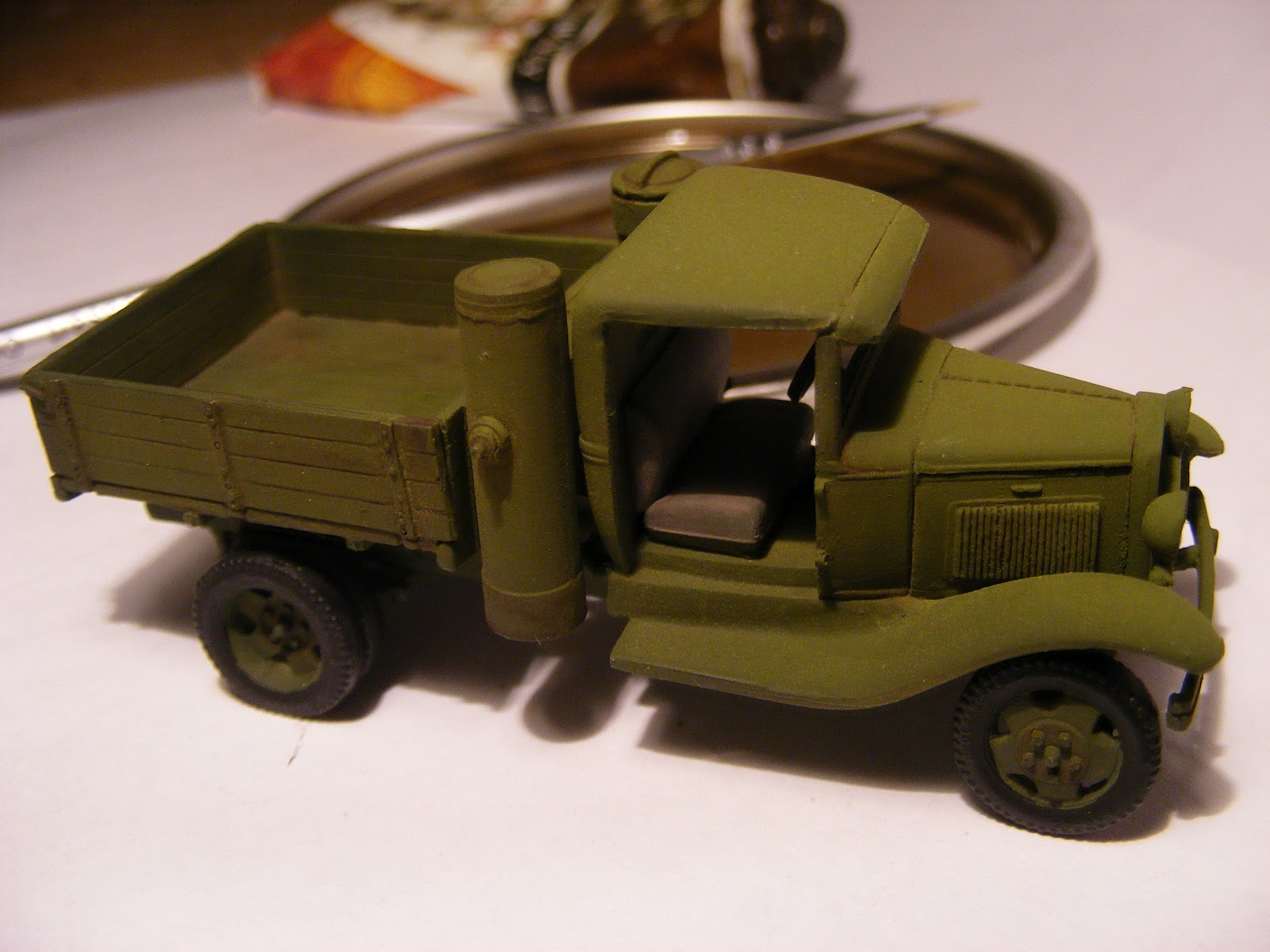 braillebuilder gaz 42 truck and 120mm mortar. Black Bedroom Furniture Sets. Home Design Ideas