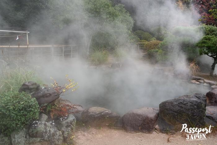 Etang fumant, Bozu Jigoku, Beppu, Oita