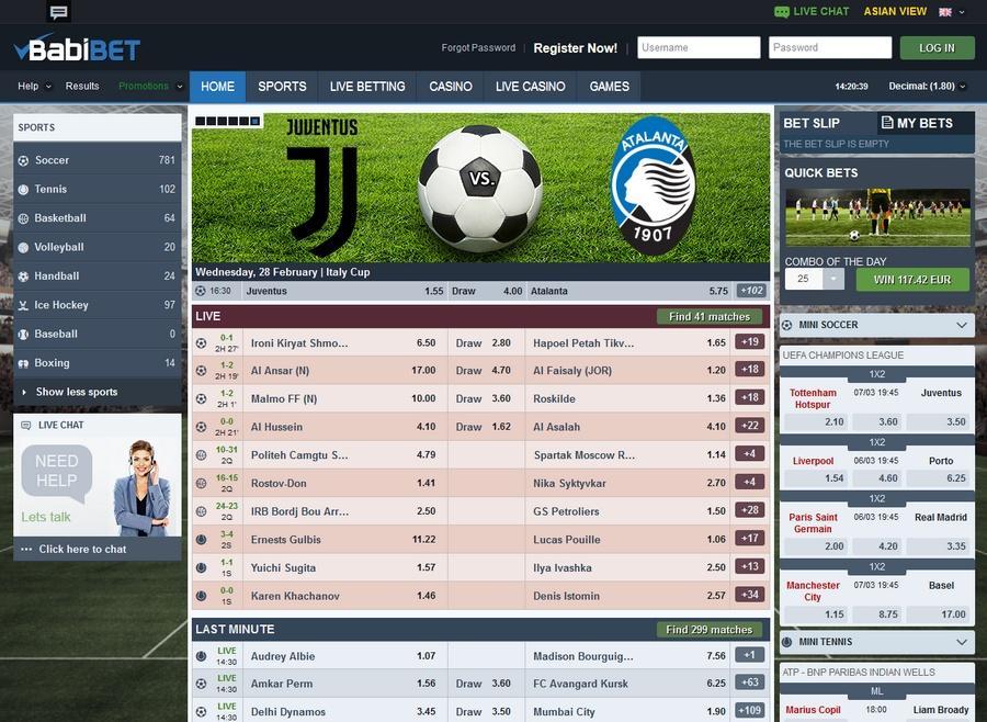 Babibet Sportsbook