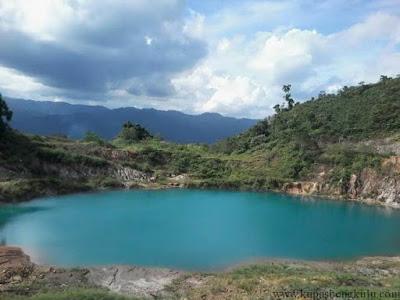Danau Lebong di Bengkulu Tengah