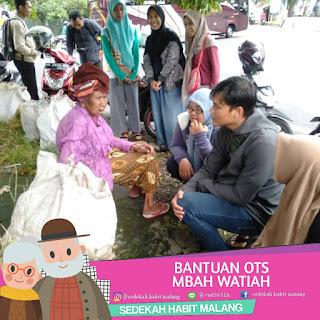 Mbah Watiah : Bantuan Ots